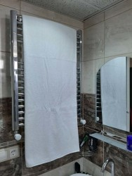 - Otel Banyo Havlusu Büyük Boy Beyaz 90X145 cm 6 ad.